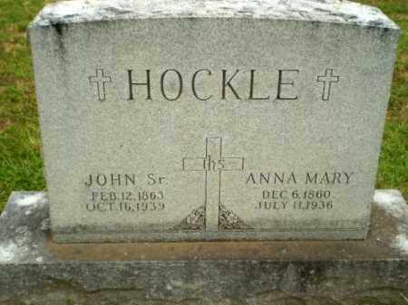 HOCKLE, ANNY MARY - Craighead County, Arkansas | ANNY MARY HOCKLE - Arkansas Gravestone Photos