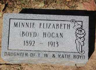 HOGAN, MINNIE ELIZABETH - Craighead County, Arkansas | MINNIE ELIZABETH HOGAN - Arkansas Gravestone Photos