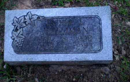 HOLLIMAN, ESTHER I - Craighead County, Arkansas | ESTHER I HOLLIMAN - Arkansas Gravestone Photos