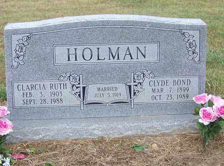 HOLMAN, CLARCIA RUTH - Craighead County, Arkansas | CLARCIA RUTH HOLMAN - Arkansas Gravestone Photos