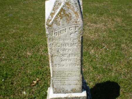 HOLMES, JOHN C - Craighead County, Arkansas | JOHN C HOLMES - Arkansas Gravestone Photos