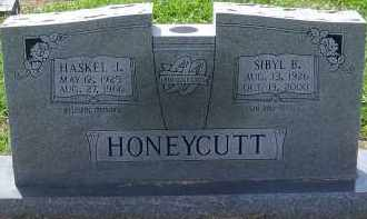HONEYCUTT, SIBYL B. - Craighead County, Arkansas | SIBYL B. HONEYCUTT - Arkansas Gravestone Photos
