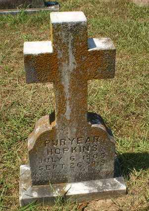HOPKINS, PURYEAR - Craighead County, Arkansas | PURYEAR HOPKINS - Arkansas Gravestone Photos