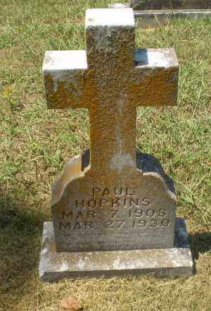 HOPKINS, PAUL - Craighead County, Arkansas | PAUL HOPKINS - Arkansas Gravestone Photos
