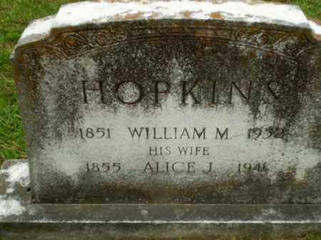 HOPKINS, WILLIAM M - Craighead County, Arkansas | WILLIAM M HOPKINS - Arkansas Gravestone Photos