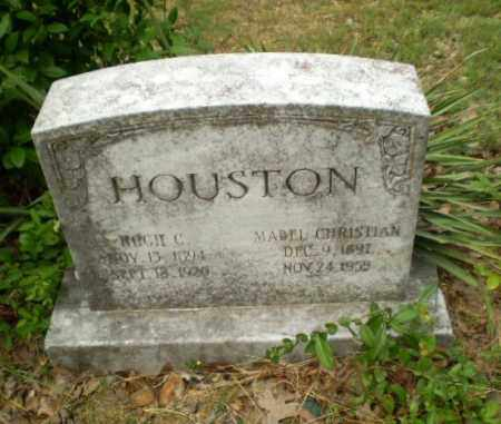 CHRISTIAN HOUSTON, MABEL - Craighead County, Arkansas | MABEL CHRISTIAN HOUSTON - Arkansas Gravestone Photos