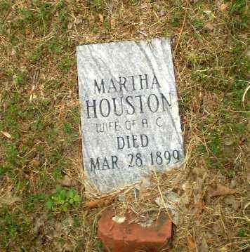 HOUSTON, MARTHA - Craighead County, Arkansas | MARTHA HOUSTON - Arkansas Gravestone Photos