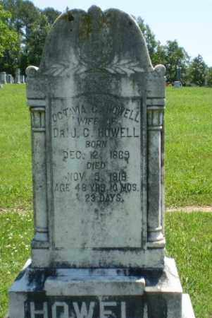 HOWELL, OCTAVIA C - Craighead County, Arkansas | OCTAVIA C HOWELL - Arkansas Gravestone Photos