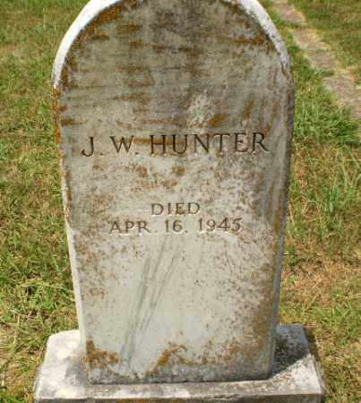 HUNTER, J.W. - Craighead County, Arkansas | J.W. HUNTER - Arkansas Gravestone Photos