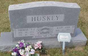 "HUSKEY, THOMAS ""T.J."" - Craighead County, Arkansas 