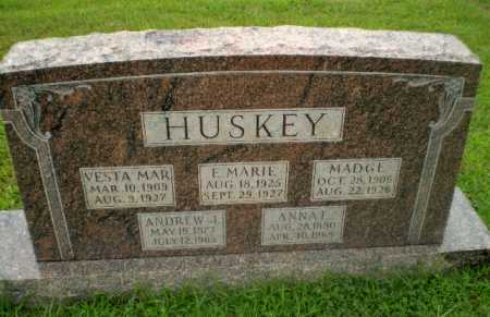 HUSKEY, VESTA MAR - Craighead County, Arkansas | VESTA MAR HUSKEY - Arkansas Gravestone Photos