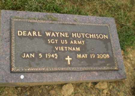 HUTCHINSON  (VETERAN VIET), DEARL WAYNE - Craighead County, Arkansas | DEARL WAYNE HUTCHINSON  (VETERAN VIET) - Arkansas Gravestone Photos