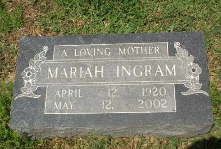INGRAM, MARIAH - Craighead County, Arkansas | MARIAH INGRAM - Arkansas Gravestone Photos