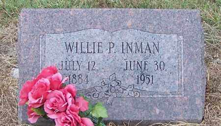 INMAN, WILLIE P. - Craighead County, Arkansas | WILLIE P. INMAN - Arkansas Gravestone Photos