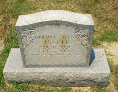 ISBELL, HERMAN OLEN - Craighead County, Arkansas | HERMAN OLEN ISBELL - Arkansas Gravestone Photos