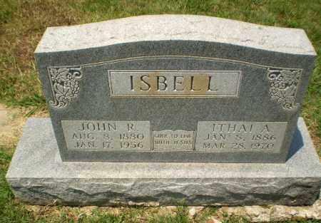 ISBELL, ITHAI A - Craighead County, Arkansas | ITHAI A ISBELL - Arkansas Gravestone Photos