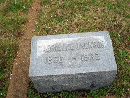 JACKSON, CARRIE LEE - Craighead County, Arkansas | CARRIE LEE JACKSON - Arkansas Gravestone Photos