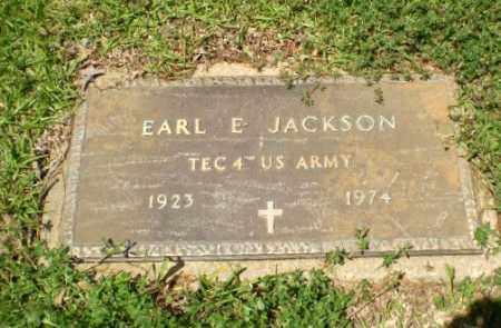 JACKSON  (VETERAN), EARL E. - Craighead County, Arkansas | EARL E. JACKSON  (VETERAN) - Arkansas Gravestone Photos
