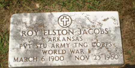 JACOBS  (VETERAN WWI), ROY ELSTON - Craighead County, Arkansas | ROY ELSTON JACOBS  (VETERAN WWI) - Arkansas Gravestone Photos