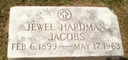 JACOBS, JEWEL HARDMAN - Craighead County, Arkansas | JEWEL HARDMAN JACOBS - Arkansas Gravestone Photos