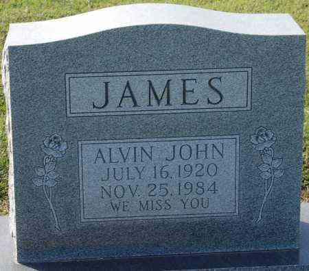 JAMES, ALVIN JOHN - Craighead County, Arkansas   ALVIN JOHN JAMES - Arkansas Gravestone Photos