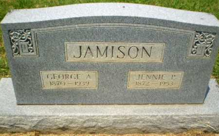 JAMISON, GEORGE A - Craighead County, Arkansas | GEORGE A JAMISON - Arkansas Gravestone Photos