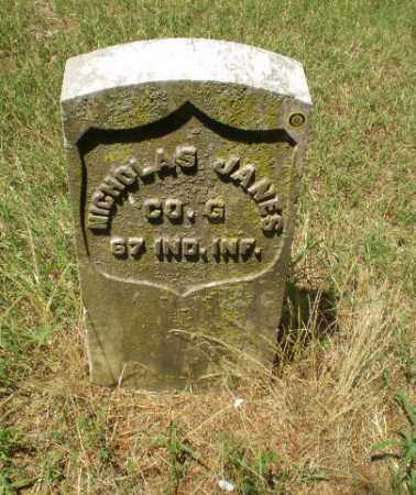 JANES  (VETERAN UNION), NICHOLAS - Craighead County, Arkansas | NICHOLAS JANES  (VETERAN UNION) - Arkansas Gravestone Photos