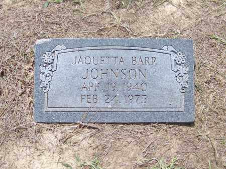 JOHNSON, JAQUETTA BARR - Craighead County, Arkansas | JAQUETTA BARR JOHNSON - Arkansas Gravestone Photos
