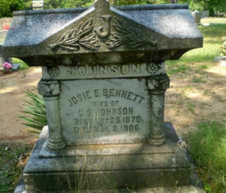 BENNETT JOHNSON, JOSIE E - Craighead County, Arkansas | JOSIE E BENNETT JOHNSON - Arkansas Gravestone Photos