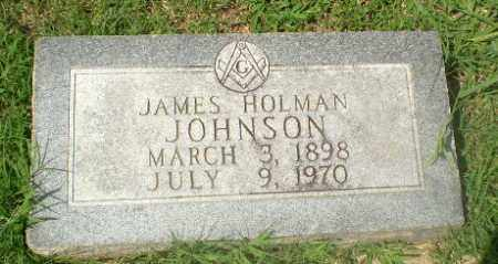 JOHNSON, JAMES HOLMAN - Craighead County, Arkansas | JAMES HOLMAN JOHNSON - Arkansas Gravestone Photos