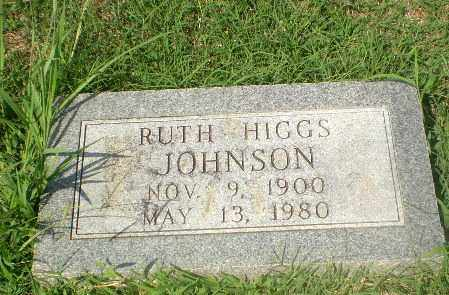 HIGGS JOHNSON, RUTH - Craighead County, Arkansas | RUTH HIGGS JOHNSON - Arkansas Gravestone Photos