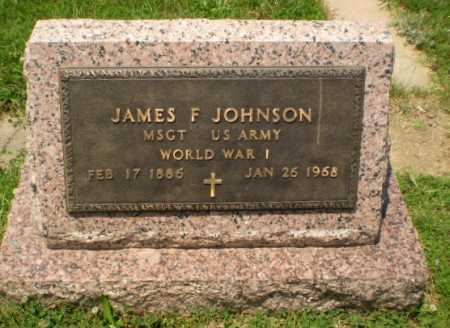 JOHNSON (VETERAN WWI), JAMES F - Craighead County, Arkansas | JAMES F JOHNSON (VETERAN WWI) - Arkansas Gravestone Photos