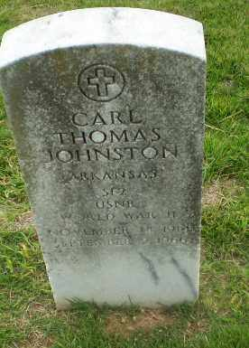 JOHNSTON  (VETERAN WWII), CARL THOMAS - Craighead County, Arkansas | CARL THOMAS JOHNSTON  (VETERAN WWII) - Arkansas Gravestone Photos