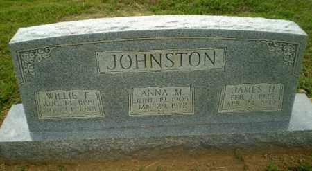 JOHNSTON, WILLIE F - Craighead County, Arkansas | WILLIE F JOHNSTON - Arkansas Gravestone Photos