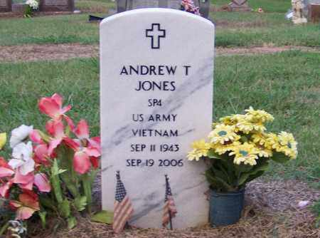 JONES  (VETERAN VIET), ANDREW T - Craighead County, Arkansas | ANDREW T JONES  (VETERAN VIET) - Arkansas Gravestone Photos