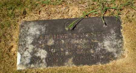 JONES  (VETERAN WWI), ARTHUR P - Craighead County, Arkansas | ARTHUR P JONES  (VETERAN WWI) - Arkansas Gravestone Photos
