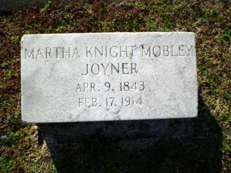 JOYNER, MARTHA  KNIGHT - Craighead County, Arkansas | MARTHA  KNIGHT JOYNER - Arkansas Gravestone Photos