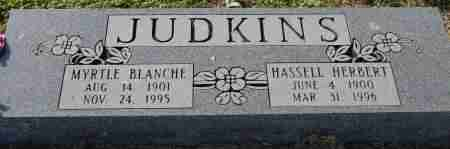 JUDKINS, MYRTLE BLANCHE - Craighead County, Arkansas | MYRTLE BLANCHE JUDKINS - Arkansas Gravestone Photos