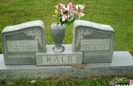"KALB, D ""DINK"" - Craighead County, Arkansas 