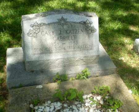 KATZEN, GARY J  (GABRIEL) - Craighead County, Arkansas | GARY J  (GABRIEL) KATZEN - Arkansas Gravestone Photos