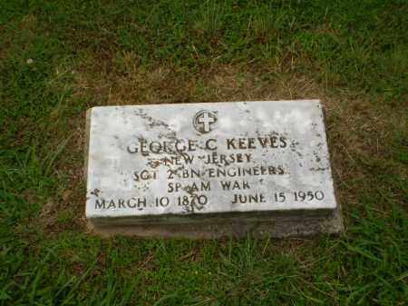 KEEVES  (VETERAN SAW), GEORGE C - Craighead County, Arkansas | GEORGE C KEEVES  (VETERAN SAW) - Arkansas Gravestone Photos