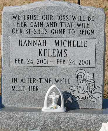 KELEMS, HANNAH MICHELLE - Craighead County, Arkansas | HANNAH MICHELLE KELEMS - Arkansas Gravestone Photos