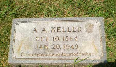 KELLER, A,A, - Craighead County, Arkansas | A,A, KELLER - Arkansas Gravestone Photos