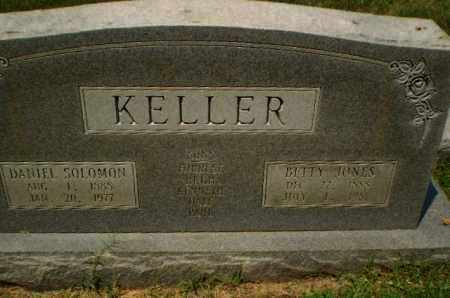 JONES KELLER, BETTY - Craighead County, Arkansas | BETTY JONES KELLER - Arkansas Gravestone Photos