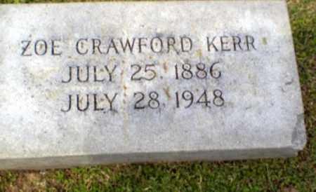 KERR, ZOE - Craighead County, Arkansas | ZOE KERR - Arkansas Gravestone Photos