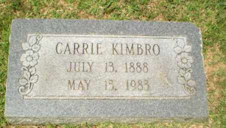 KIMBRO, CARRIE - Craighead County, Arkansas | CARRIE KIMBRO - Arkansas Gravestone Photos