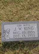 KING, J.W. - Craighead County, Arkansas | J.W. KING - Arkansas Gravestone Photos