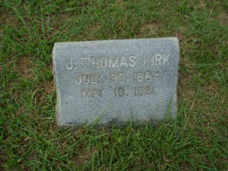 KIRK, J. THOMAS - Craighead County, Arkansas | J. THOMAS KIRK - Arkansas Gravestone Photos