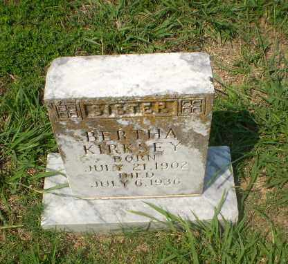 KIRKSEY, BERTHA - Craighead County, Arkansas | BERTHA KIRKSEY - Arkansas Gravestone Photos