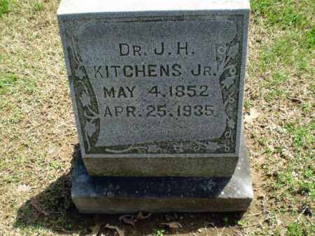 KITCHENS, DR. J H (JR) - Craighead County, Arkansas | DR. J H (JR) KITCHENS - Arkansas Gravestone Photos